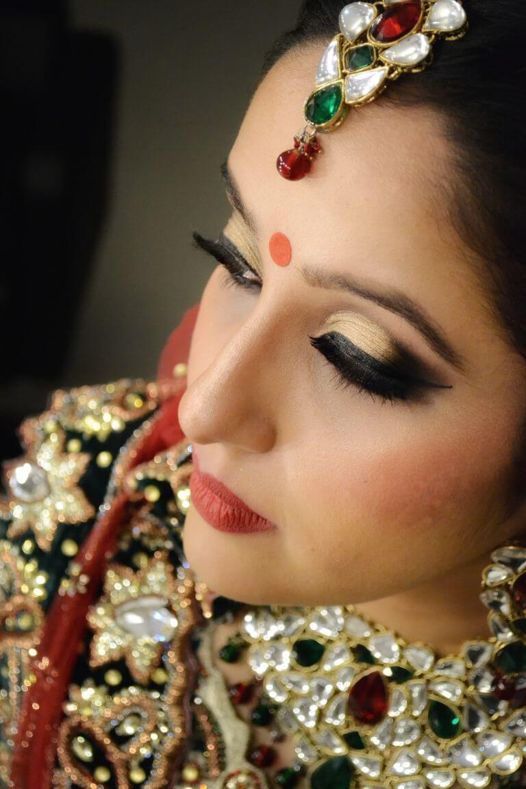 Bridal Make up Ruchika bhatia beautiful