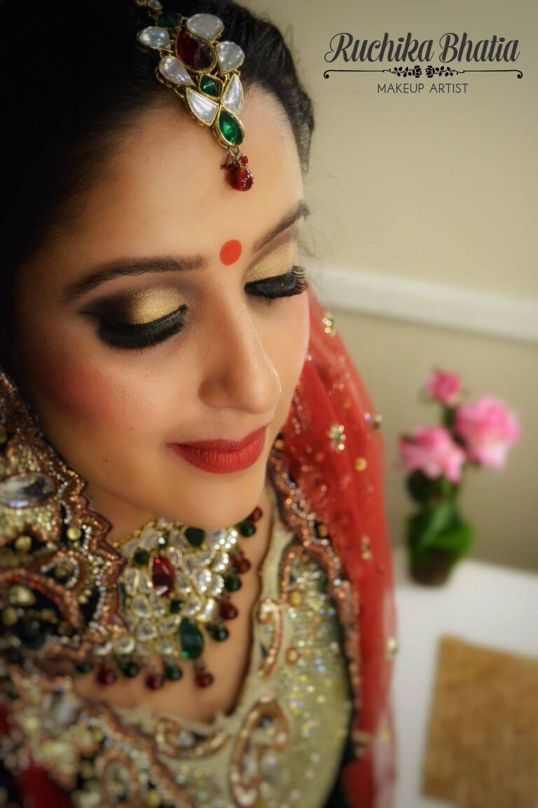 elegant Bridal Make up Ruchika bhatia