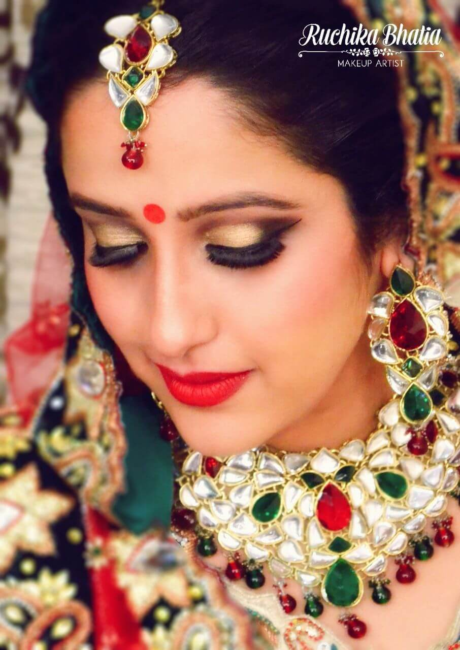 premium Bridal Make up Ruchika bhatia